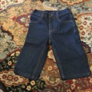 Nearly perfect Nautica jeans. Size: 9 month